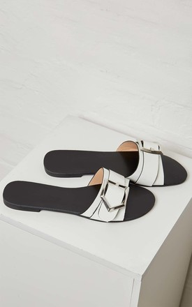 SONIA – Buckle Detail Strap Flat by Blue Vanilla