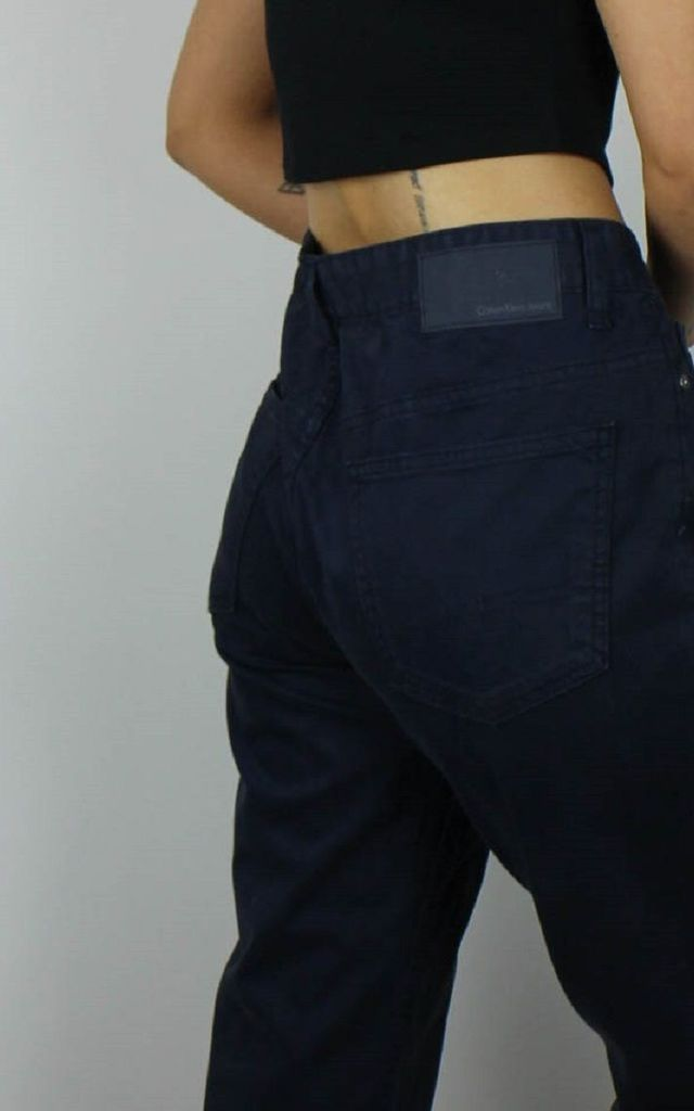 Vintage CK Calvin Klein Jeans with Logo Back by Re:dream Vintage