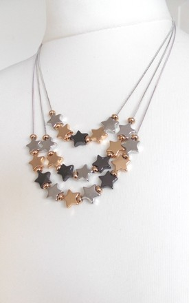 Star Statement Necklace by Olivia Divine Jewellery