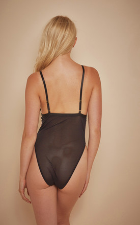 Wolf & Whistle Jetta Lace and mesh body by Wolf & Whistle