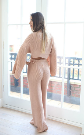 JOSIE Pink Knitted Loungewear by Giorgi London