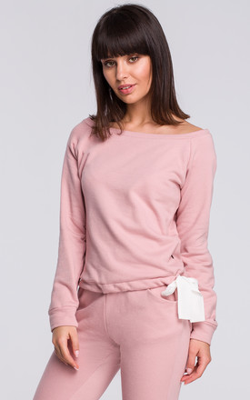 Pink Long Sleeve Jumper by MOE