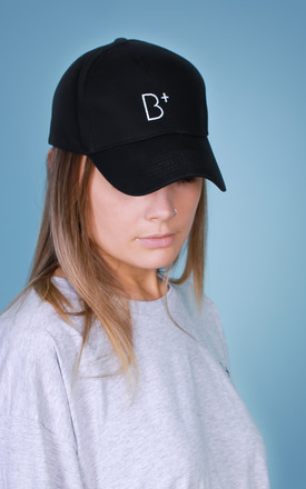 B+ Black Baseball CAP by B+ Streetwear Clothing