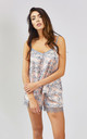 Floral Nightwear Pyjama Shorts in Blush Pink by Pretty You London