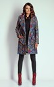 Boho Mid-Lenght Tied Coat by Bergamo
