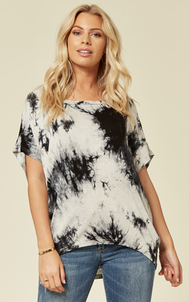 AUBREY - Tie Dye Navy Top by Blue Vanilla