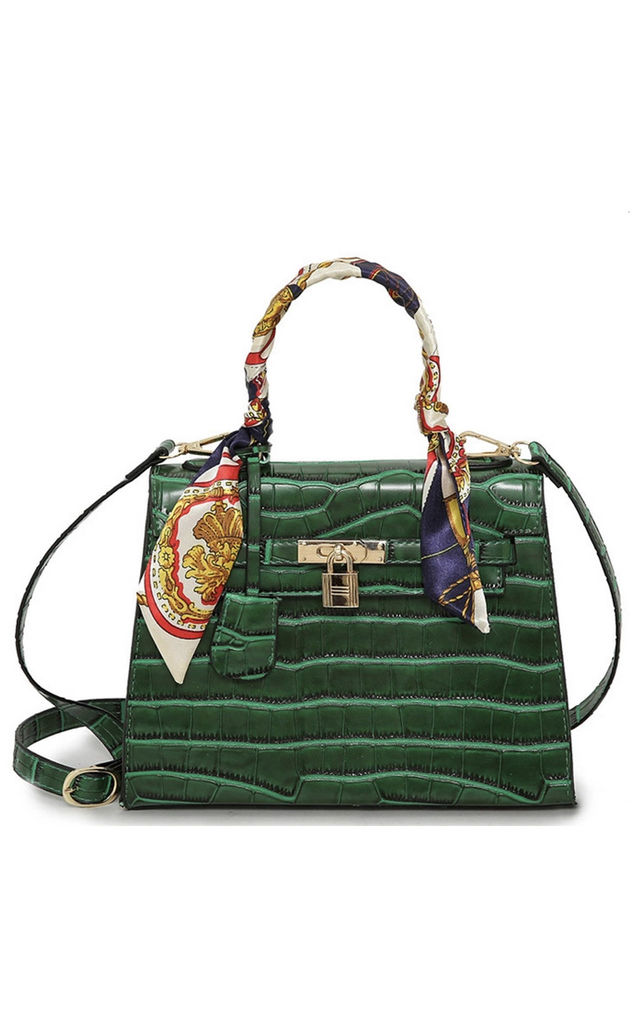Marcella City Bag in Green by Broke and Beautiful