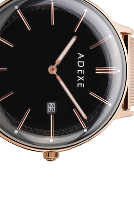 Meek Grande Rose Gold Watch by ADEXE Watches