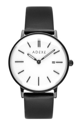 Meek Grande Black Watch by ADEXE Watches