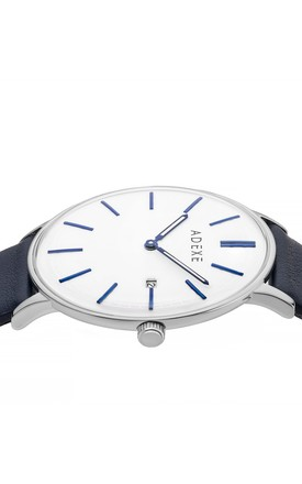 Meek Grande Watch in Blue & White by ADEXE Watches