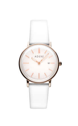 Meek Petite Watch In Snow White by ADEXE Watches Product photo