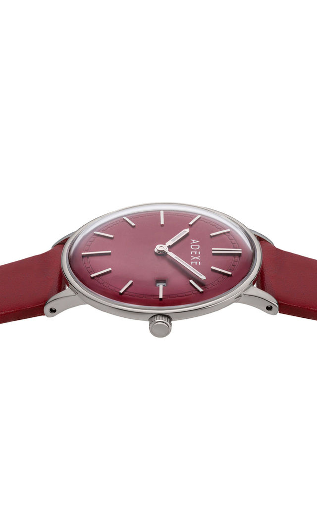 Meek Petite Watch in Glamorous Red by ADEXE Watches