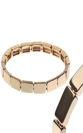 Gold Mini Bar Bracelet by Nautical and Nice Ltd