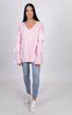 Verity knitted pink jumper by Miss Attire