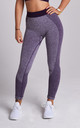 Purple Flex Gym Leggings by Twisted Saint