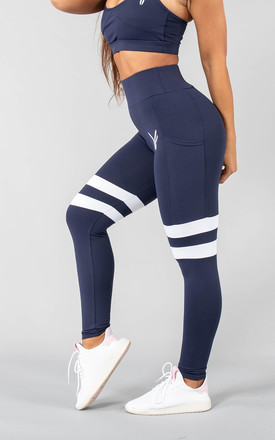 Vivekk Leggings in Navy by Versa Forma