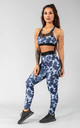 Postar Leggings in Dark Storm Blue by Versa Forma