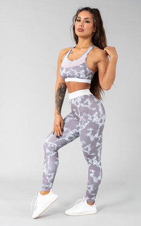 Postar Leggings In Grey Storm by Versa Forma Product photo