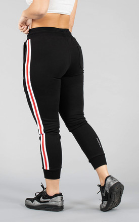 Sophia Track Jogging Bottoms in Black by Versa Forma
