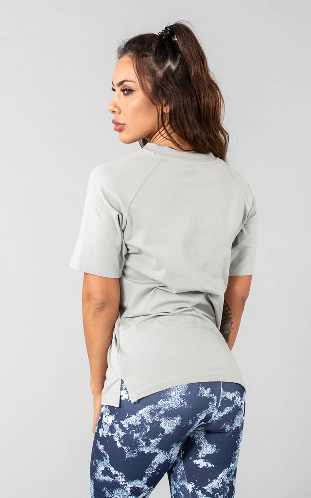 Femme Coms Sports T-shirt in Sage by Versa Forma