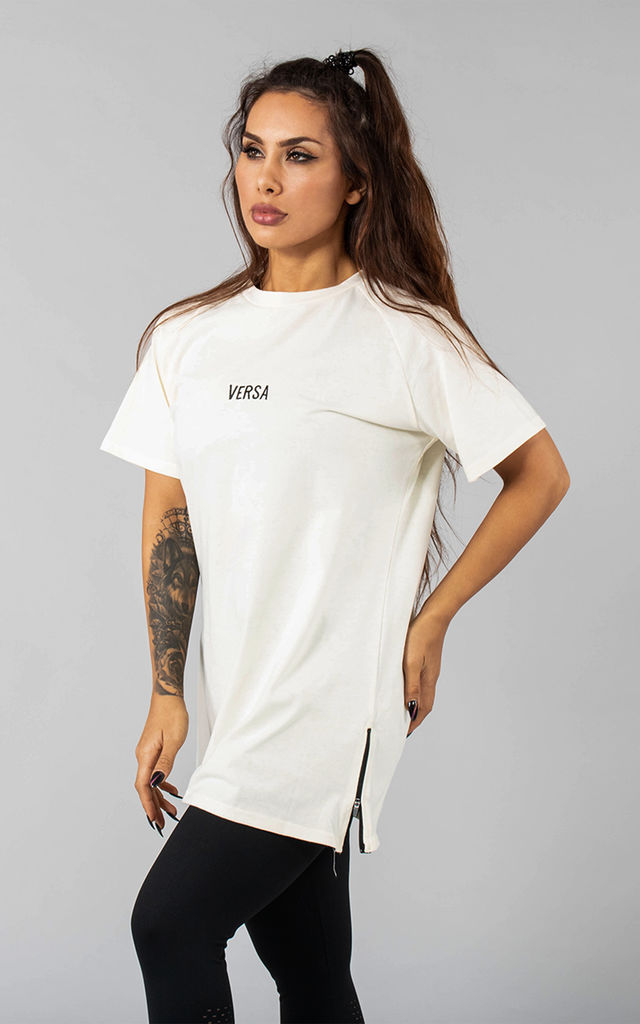 Femme Vendor Oversized T-Shirt in French Vanilla Cream by Versa Forma