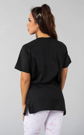 Femme Vendor Oversized T-Shirt in Black by Versa Forma