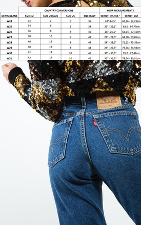 Vintage 80s Reworked Levi's Mom Jeans / 0197 by Avelinas Vintage