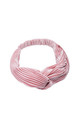 Vintage Pink Knot Front Velvet Headband by LULU IN THE SKY