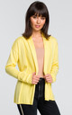 Cardigan with Shawl Collar in Yellow by MOE