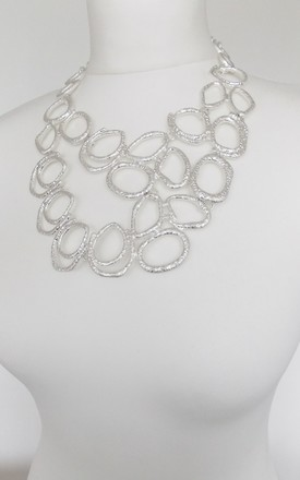 Stunning Silver Statement Necklace by Olivia Divine Jewellery