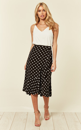 2 In 1 Polka Dot Frill Hem Dress by AX Paris Product photo