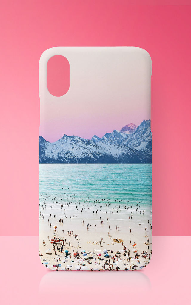 The Island Pastel Phone Case by Art Wow