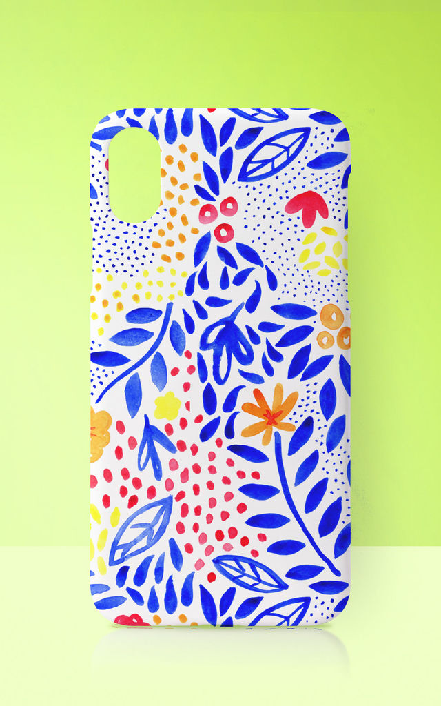 Floral Vibrant Summer Phone Case by Art Wow