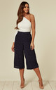 Sasha Navy and White Polka Dot Culottes by SUGARHILL BRIGHTON