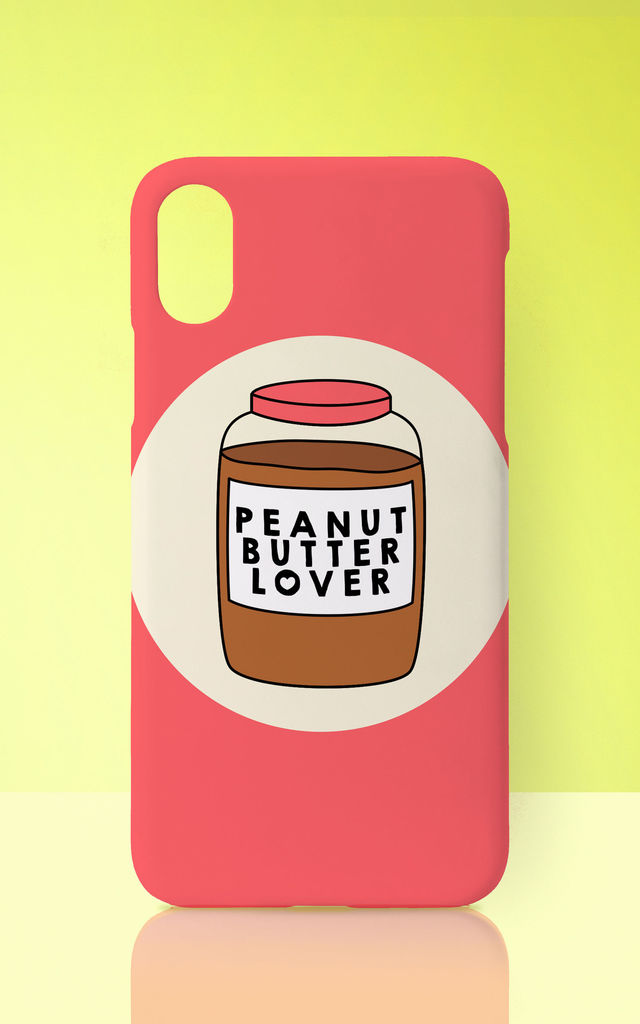 Peanut Butter Lover Pink Phone Case by Art Wow