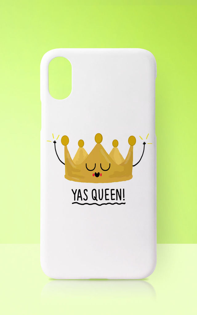 Yas Queen Phone Case by Art Wow