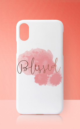 Blessed Pink Pastel Phone Case by Art Wow
