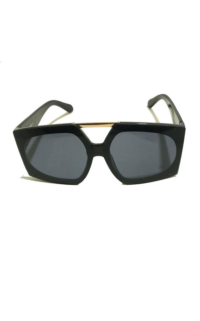 Square Black Sunglasses by Miss Mills