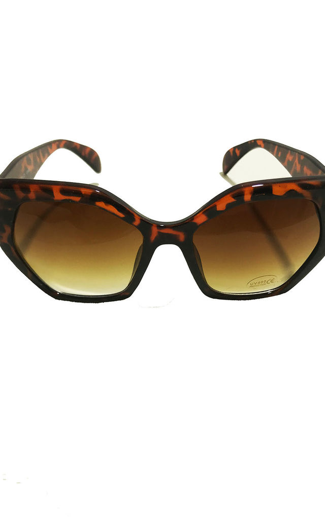 Thick Leopard Sunglasses by Miss Mills