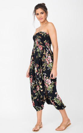Harem Jumpsuit And Hareem Pants 2 In 1 Floral Bouquet by likemary