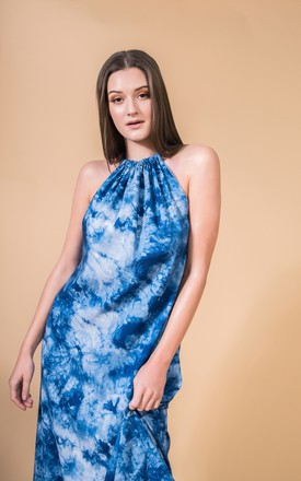 Maxi Dress Isla In Blue Tie Dye by COCOOVE Product photo