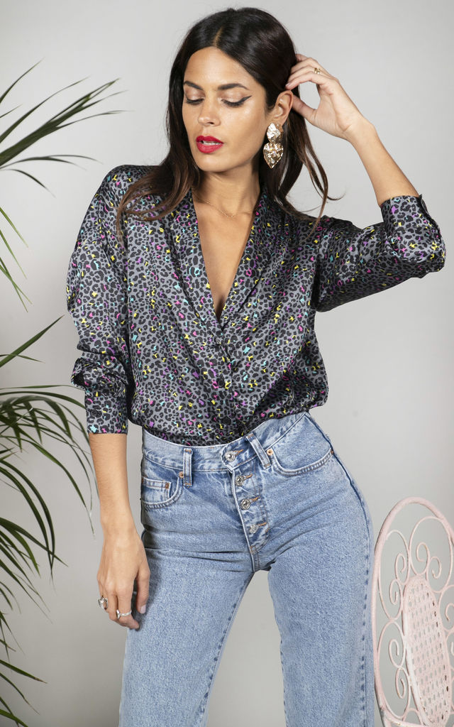 Monte Carlo Shirt in Ditzy Leopard image