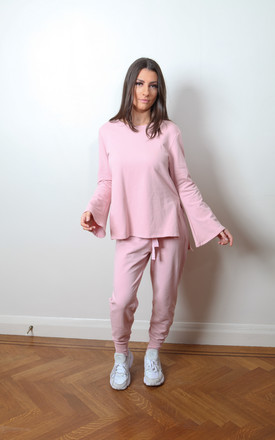 Candy Floss Tracksuit in Pink by Pink Flame UK