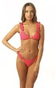 Red Frill Bikini with tie back by Get Styled UK