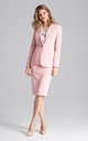 Blazer jacket in pink by FIGL