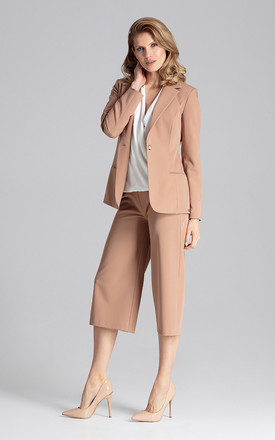 Blazer jacket in light brown by FIGL