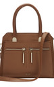 Eden Tote Bag in Cinnamon Brown by RI2K London