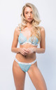 Avelina Lace Lingerie Set in Blue by IVYSISTER