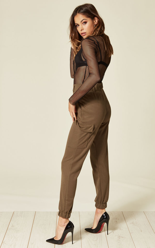 Khaki Cargo Trouser by Clothes Minded