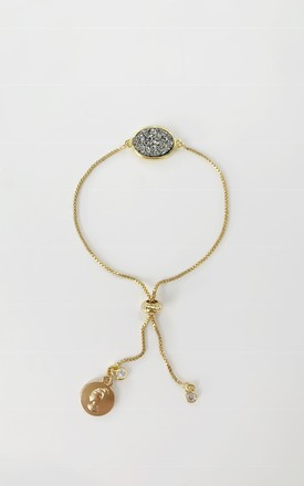 BCHARMD | Annie Gold Bracelet with Crystal by Vita Grace